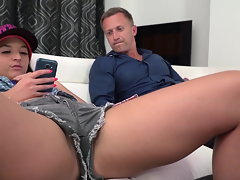 Amirah Adara gets banged by Anissa Kate's boy