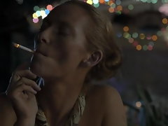 Tilda Swinton - The Beach 2000 (Mature and Young)